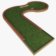 Mini Golf Hole 3 3d model