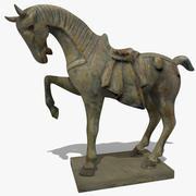 馬の像(H) 3d model