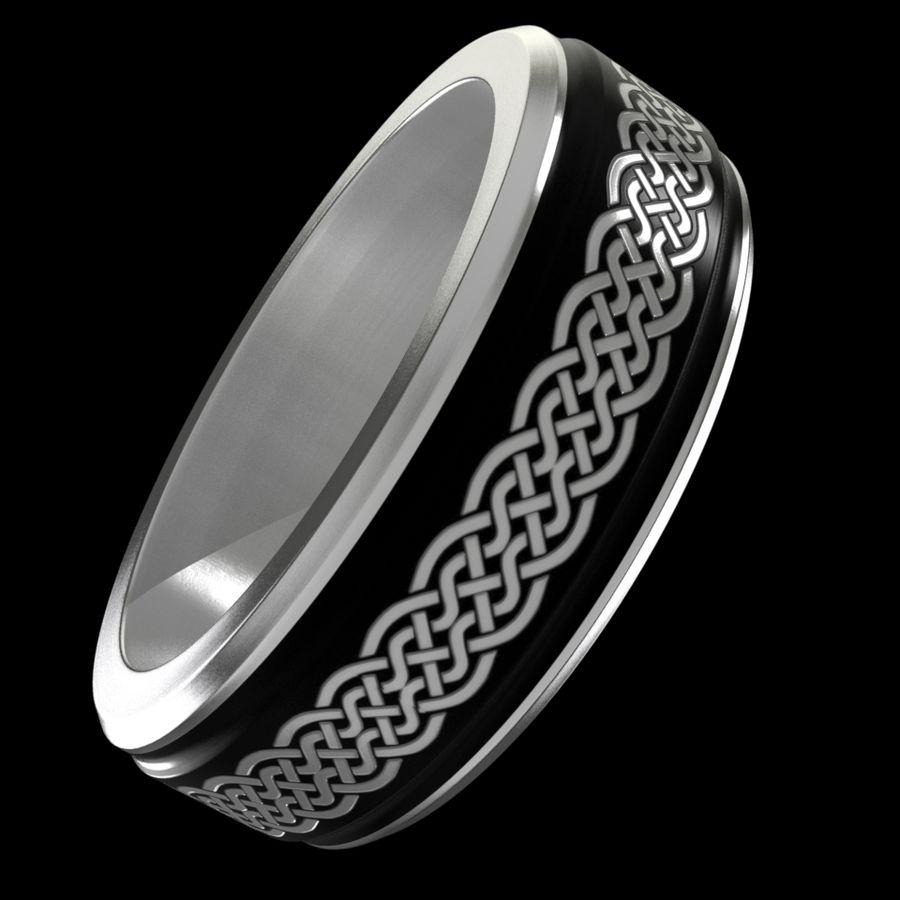 Keltischer Ring 2 royalty-free 3d model - Preview no. 4