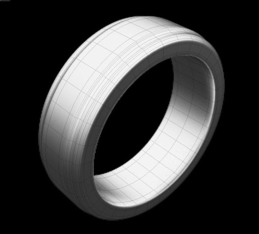 Keltischer Ring 2 royalty-free 3d model - Preview no. 7