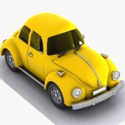 Cartoon Car 3 3d model