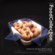 甜甜圈篮子 3d model