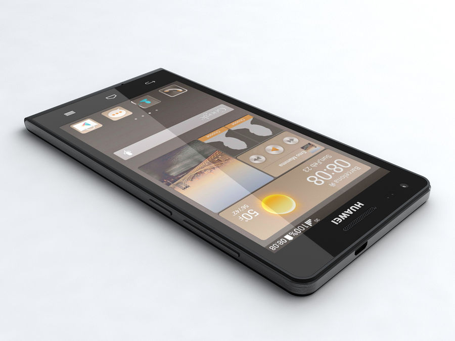 Huawei Ascend G6 royalty-free 3d model - Preview no. 2