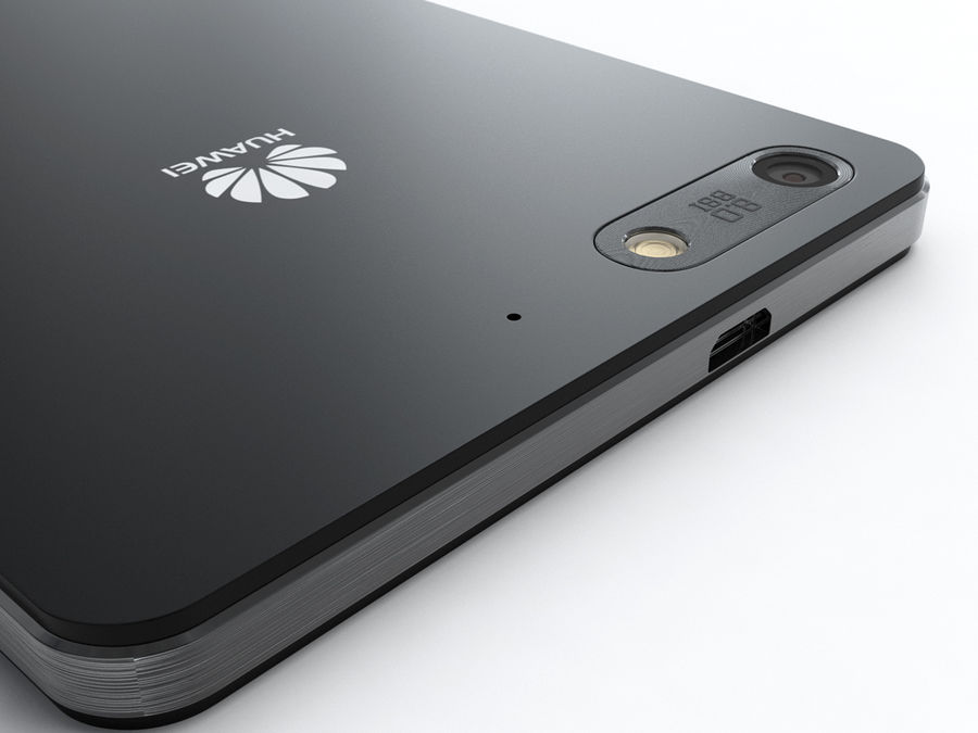 Huawei Ascend G6 royalty-free 3d model - Preview no. 17