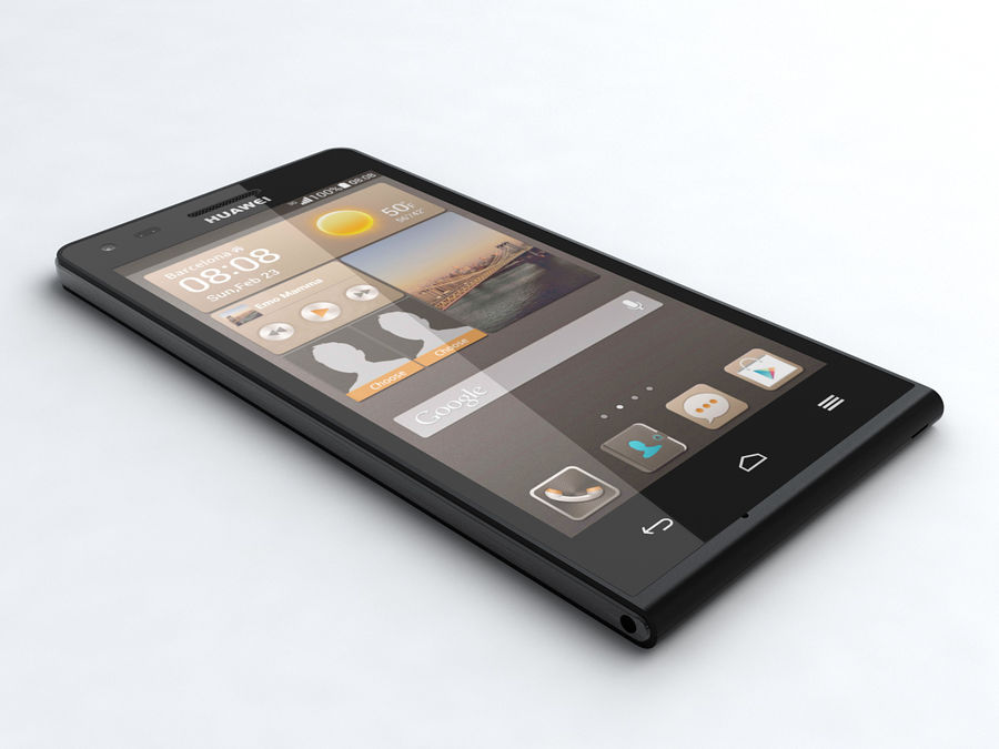 Huawei Ascend G6 royalty-free 3d model - Preview no. 1
