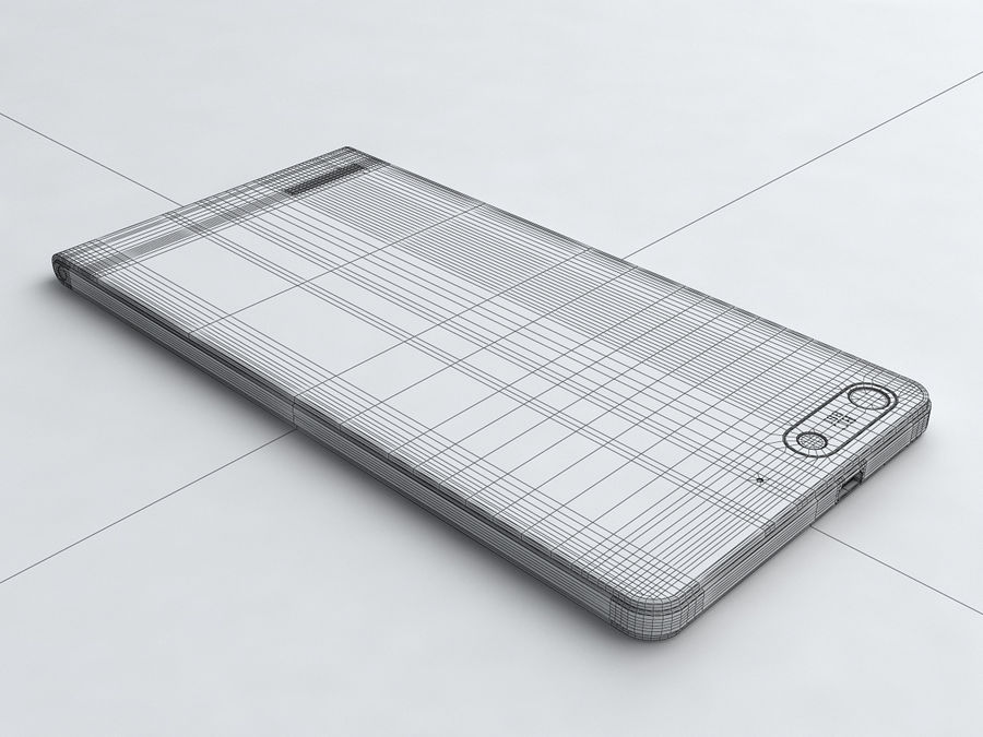 Huawei Ascend G6 royalty-free 3d model - Preview no. 20