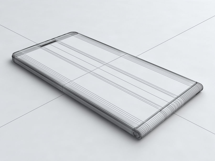 Huawei Ascend G6 royalty-free 3d model - Preview no. 18
