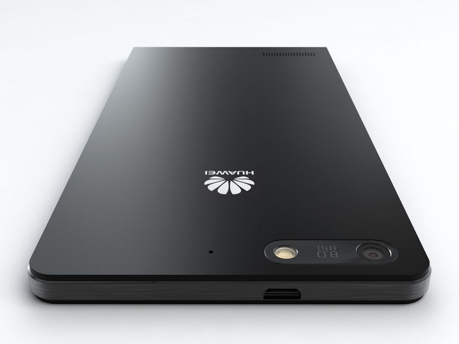 Huawei Ascend G6 royalty-free 3d model - Preview no. 7