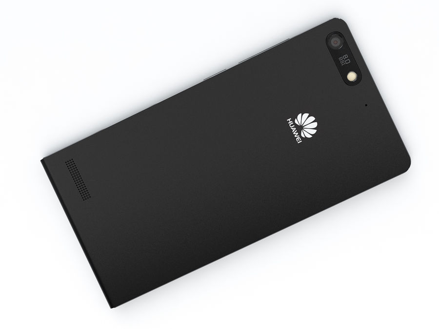 Huawei Ascend G6 royalty-free 3d model - Preview no. 14