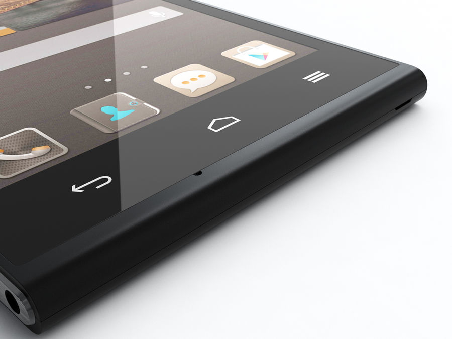 Huawei Ascend G6 royalty-free 3d model - Preview no. 15
