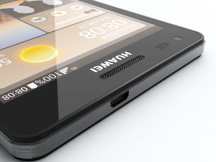 Huawei Ascend G6 royalty-free 3d model - Preview no. 16