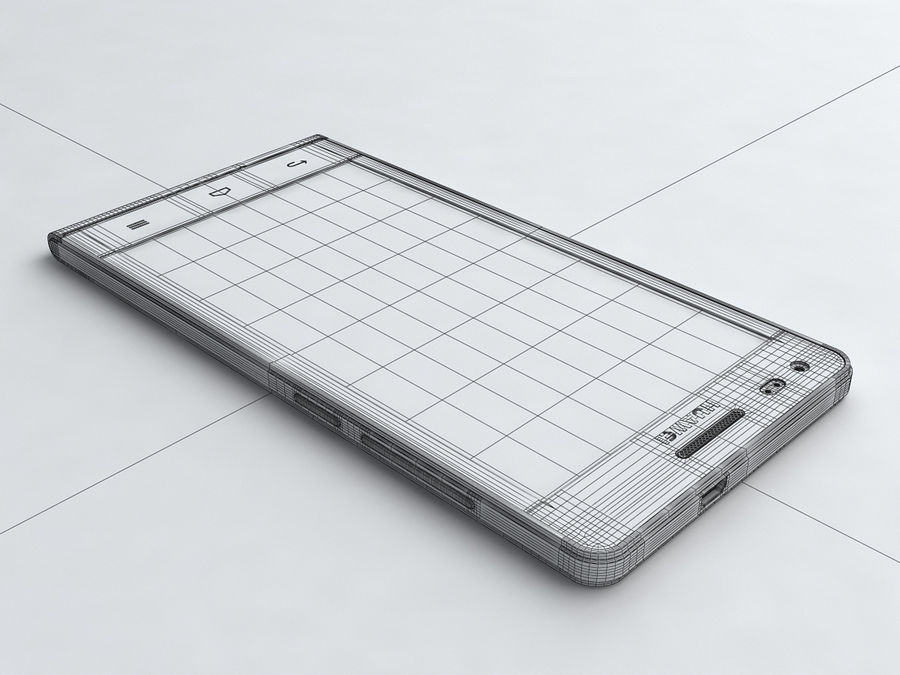 Huawei Ascend G6 royalty-free 3d model - Preview no. 19