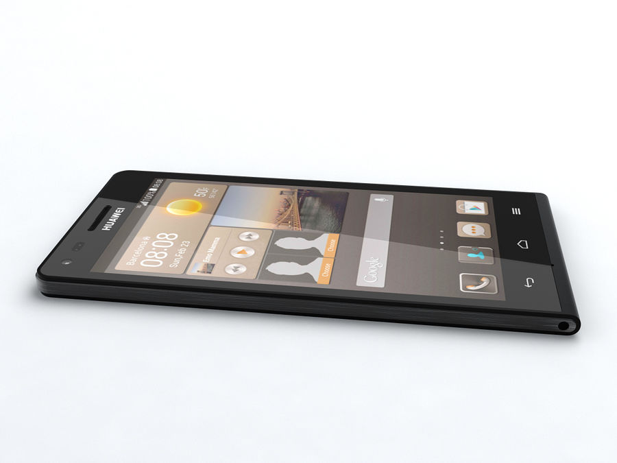 Huawei Ascend G6 royalty-free 3d model - Preview no. 9