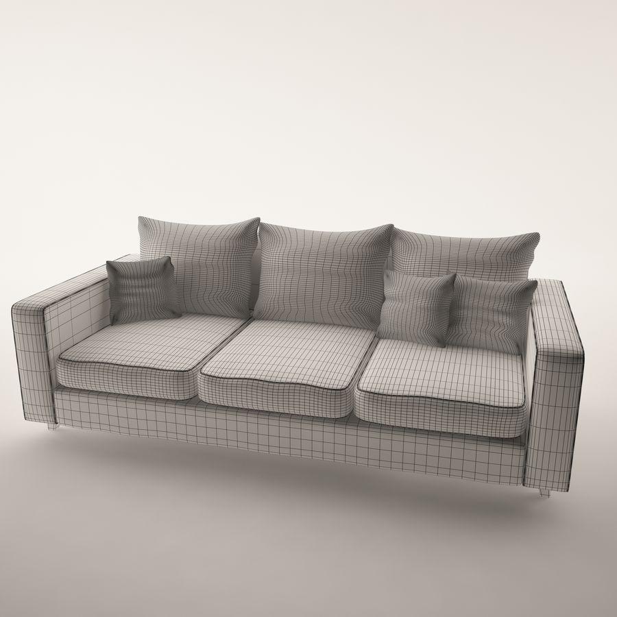 Conjunto de muebles royalty-free modelo 3d - Preview no. 3