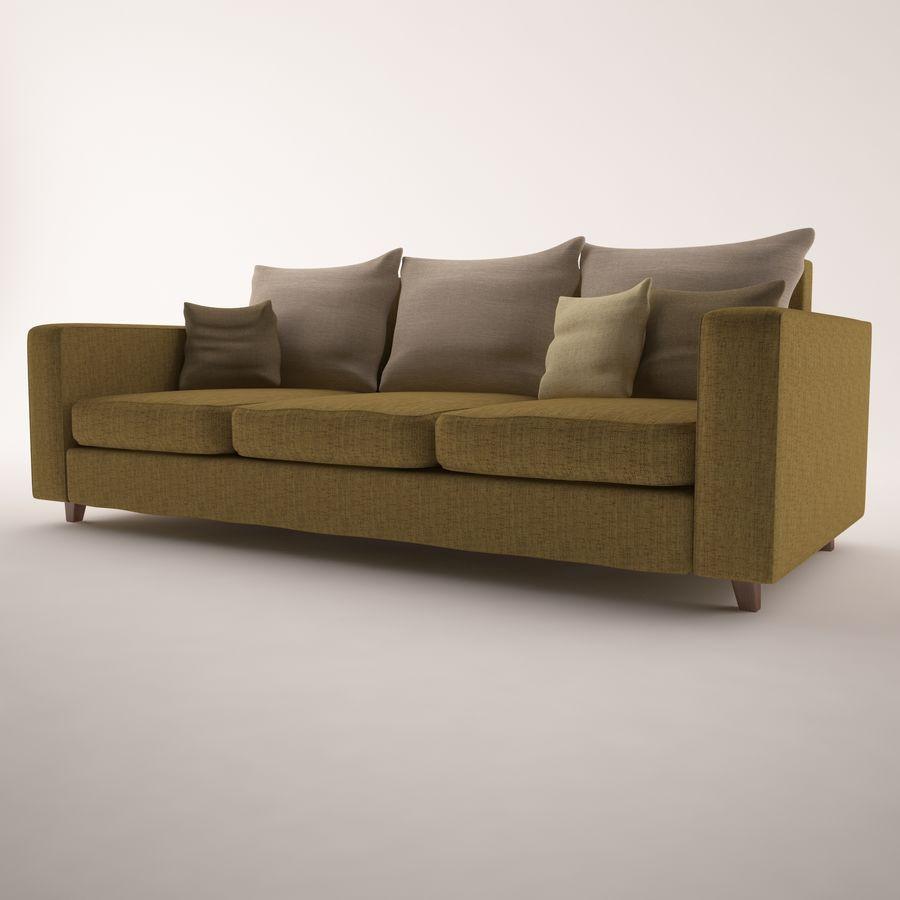 Conjunto de muebles royalty-free modelo 3d - Preview no. 4