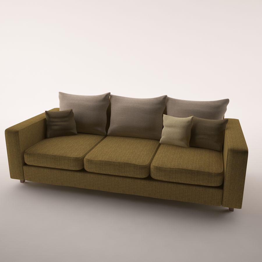 Conjunto de muebles royalty-free modelo 3d - Preview no. 2