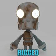 Liebenswerte Roboter 3d model