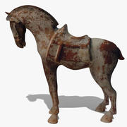 Horse Statuette (L) 3d model