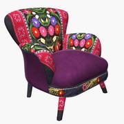 Кресло Suzani 3d model