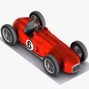 Cartoon Vintage Racing Car 1 3d model