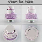 Gâteau de mariage 3d model