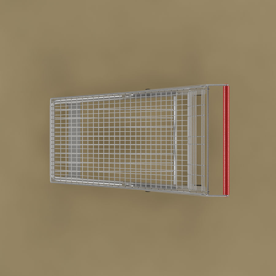 Shopping cart_01 royalty-free 3d model - Preview no. 6