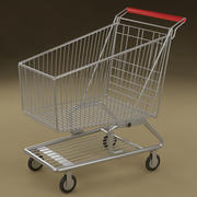 Shopping cart_01 3d model