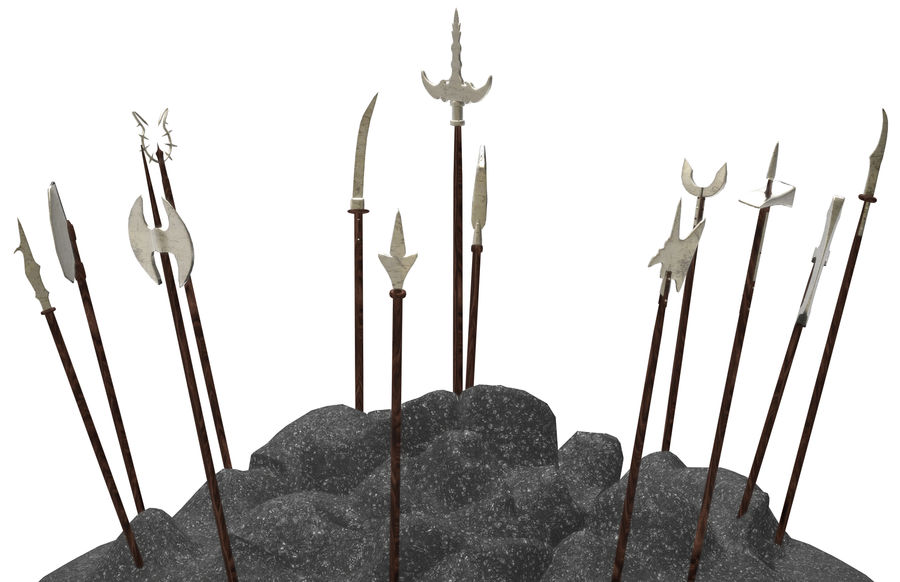 Old_Weapons royalty-free 3d model - Preview no. 1