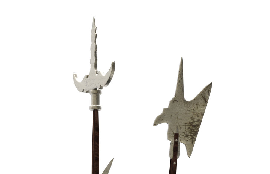 Old_Weapons royalty-free 3d model - Preview no. 5