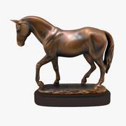 Horse Statuette (V) 3d model
