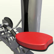 Gym Mid Row 3d model