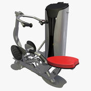 Gym mi rangée 3d model