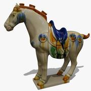 Horse Statuette (Z) 3d model