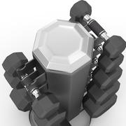 哑铃架V2 3d model