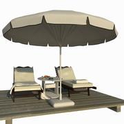 Scena del lettino 3d model