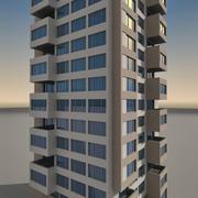 Residential 013 3d model