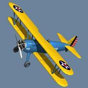 Boeing-Stearman (Model 75) 3d model