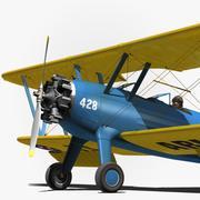 Boeing-Stearman (modelo 75) 3d model