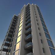 Residential 014 3d model