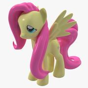 Min Little Pony Fluttershy Toy 3d model