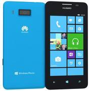 Huawei Ascend W2 Bleu 3d model