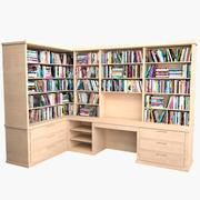 書棚MHT-02 3d model