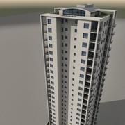 Небоскреб 012 3d model