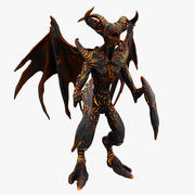 Demon monster 3d model