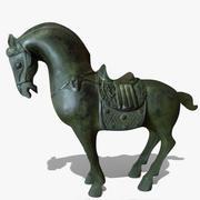 Horse Statuette (R) 3d model