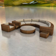 Circular Sofa 3d model