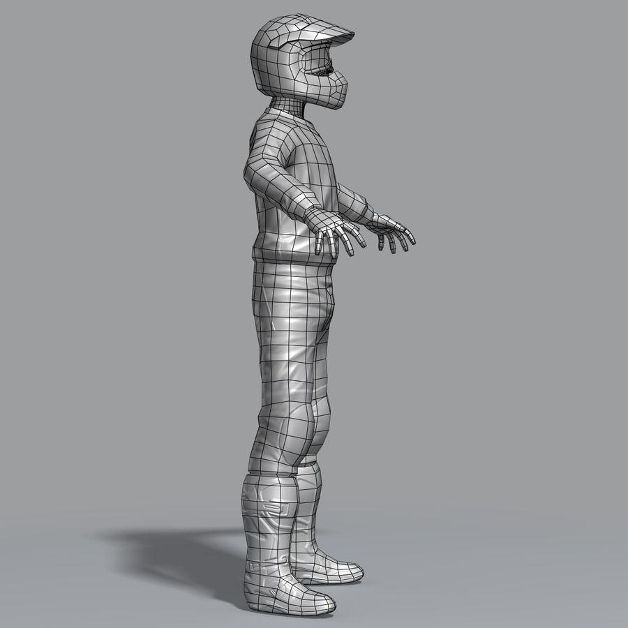 크로스 라이더 royalty-free 3d model - Preview no. 16