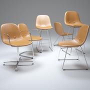 眼睛椅 3d model