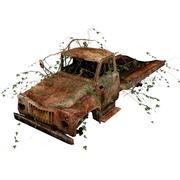 Wrecked Truck 3d model
