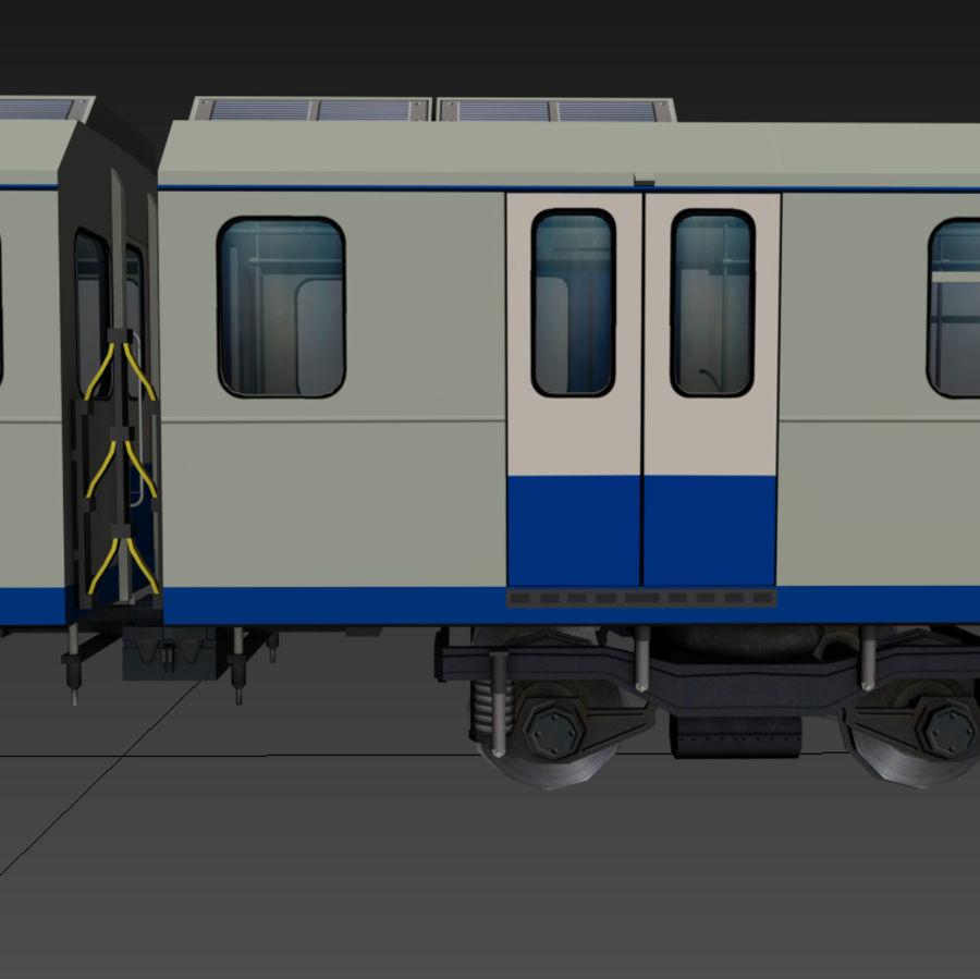 지하철 + 실내 royalty-free 3d model - Preview no. 8